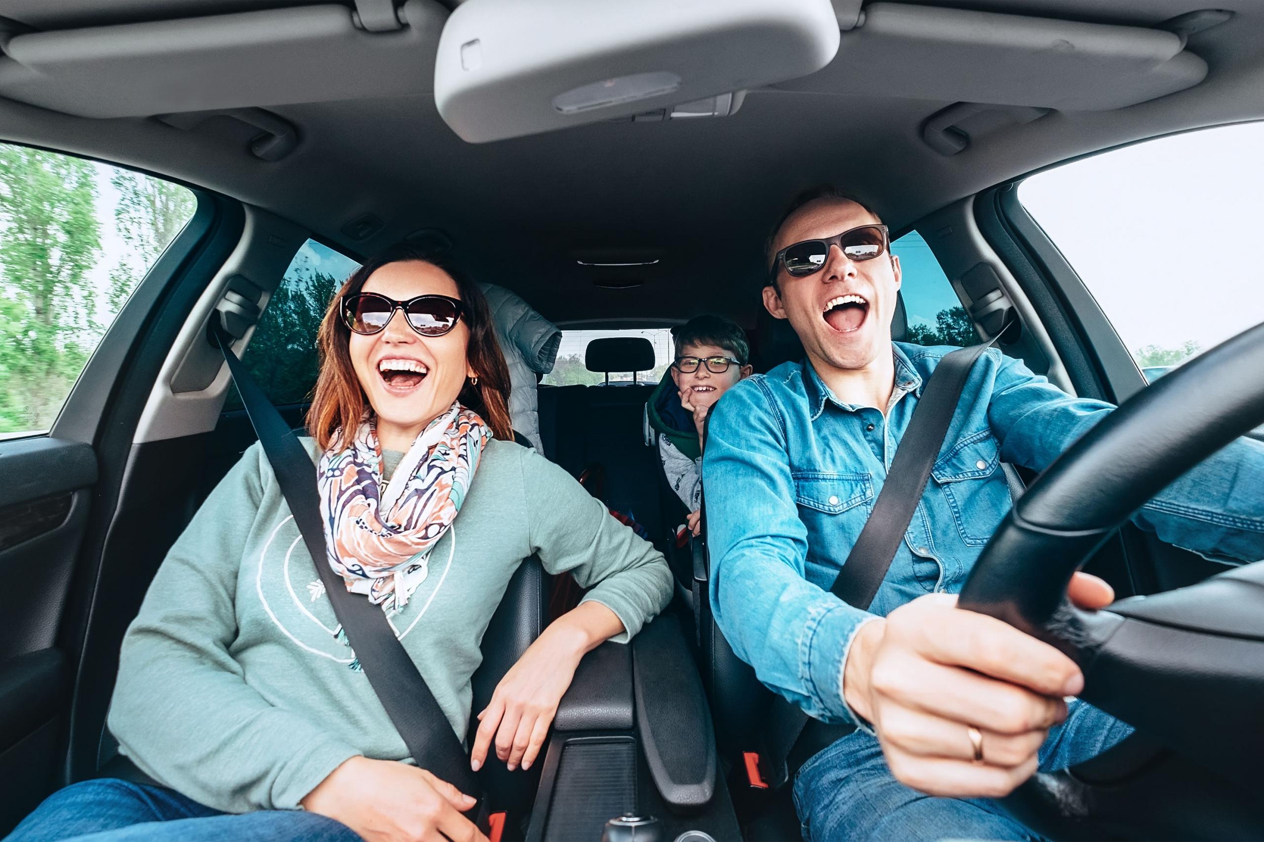 Driving Home For Christmas Shutterstock 1272577537